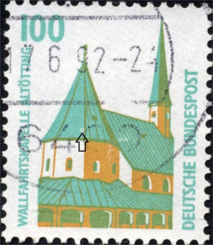 Bundes 1406 A Stain on central dome.jpg