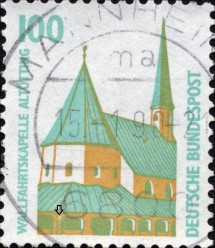 Bundes 1406 A Stain on left 2nd window.jpg