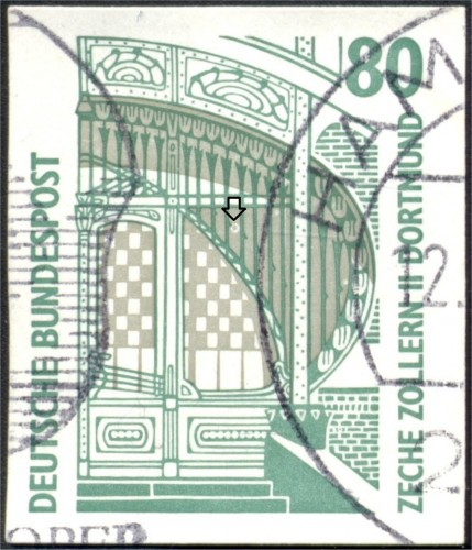 Bundes 1533 Halo in the center of the stamp.jpg