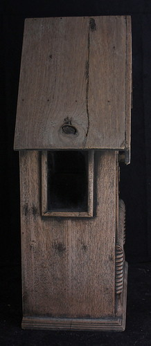 Mail Box old vintage used Thai private home chic antique shabby box letter case 3.jpg