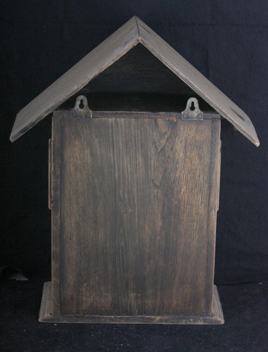 Mail Box old vintage used Thai private home chic antique shabby box letter case 4.jpg