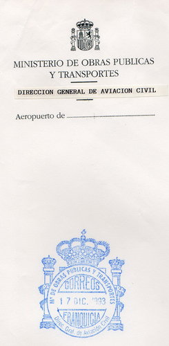 FRAN MIN  Madrid MADRID  Direccion General de Aviacion Civil 1993.jpg